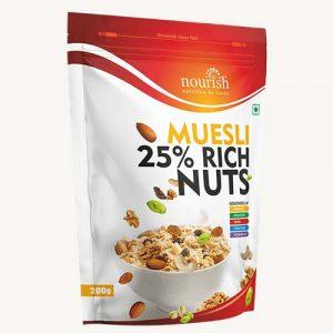 Nourish Muesli, Gut Healthy, Rich in Fiber